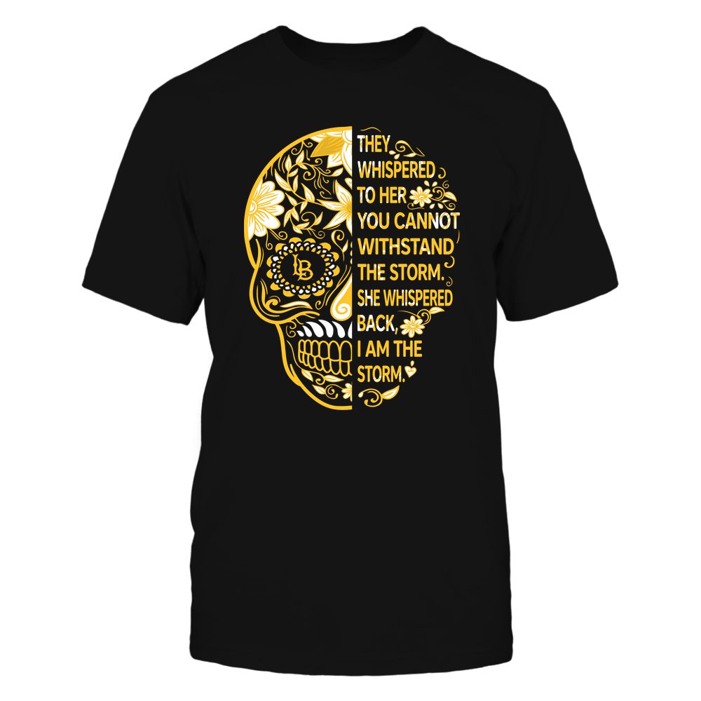 Long Beach State 49ers - 19092310107-Half Sugar Skull - I Am The Storm - APCX - IF13-IC13-DS27 Front picture