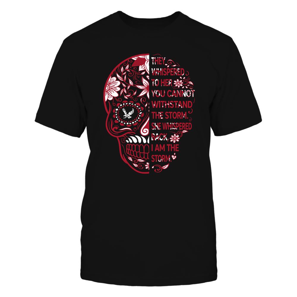 Eastern Washington Eagles - 19092310107-Half Sugar Skull - I Am The Storm - APCX - IF-IC13-DS37 Front picture