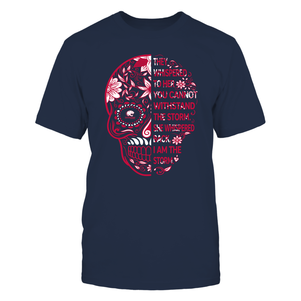 South Alabama Jaguars - 19092310107-Half Sugar Skull - I Am The Storm - APCX - IF13-IC13-DS27 Front picture