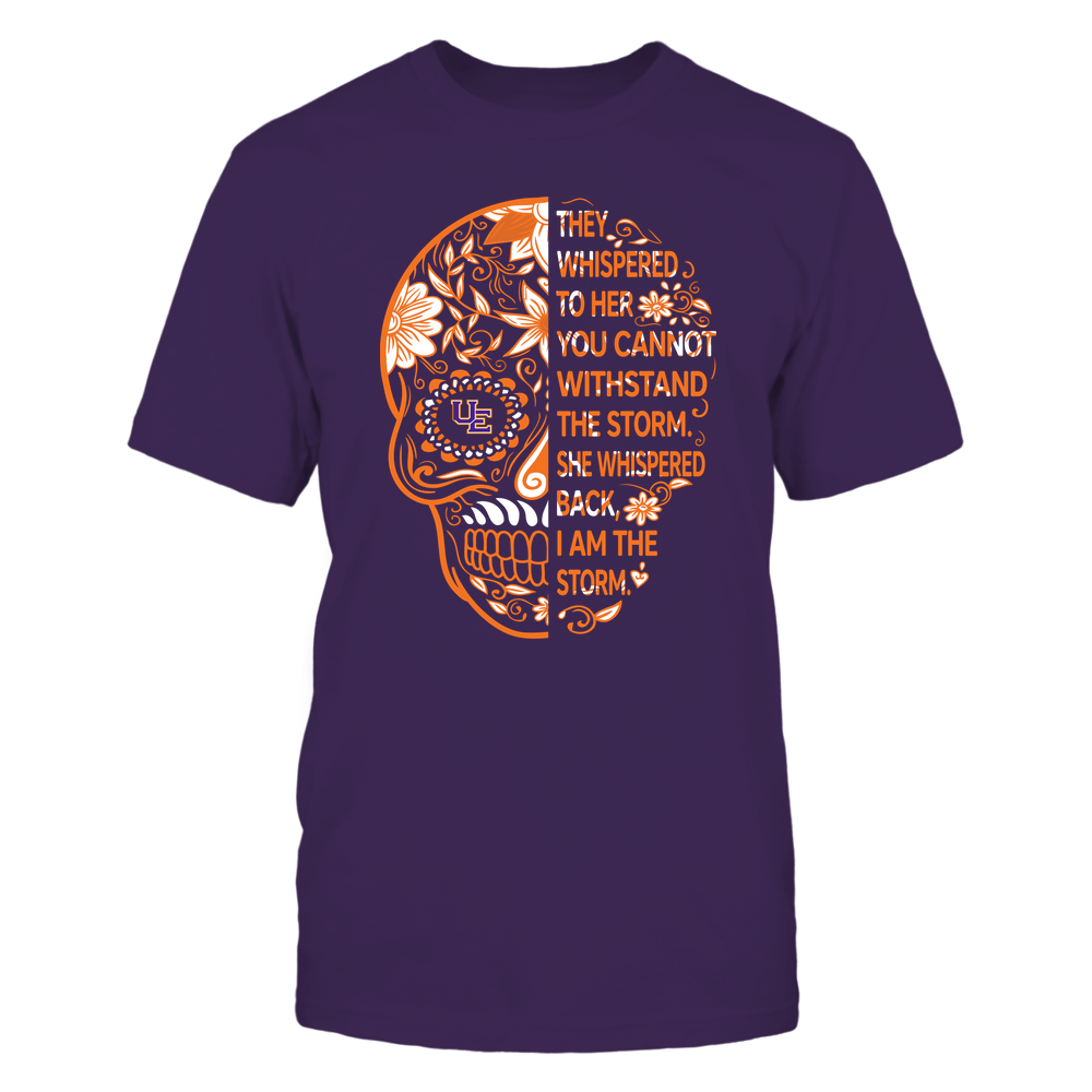 Evansville Purple Aces - 19092310107-Half Sugar Skull - I Am The Storm - APCX - IF13-IC13-DS27 Front picture