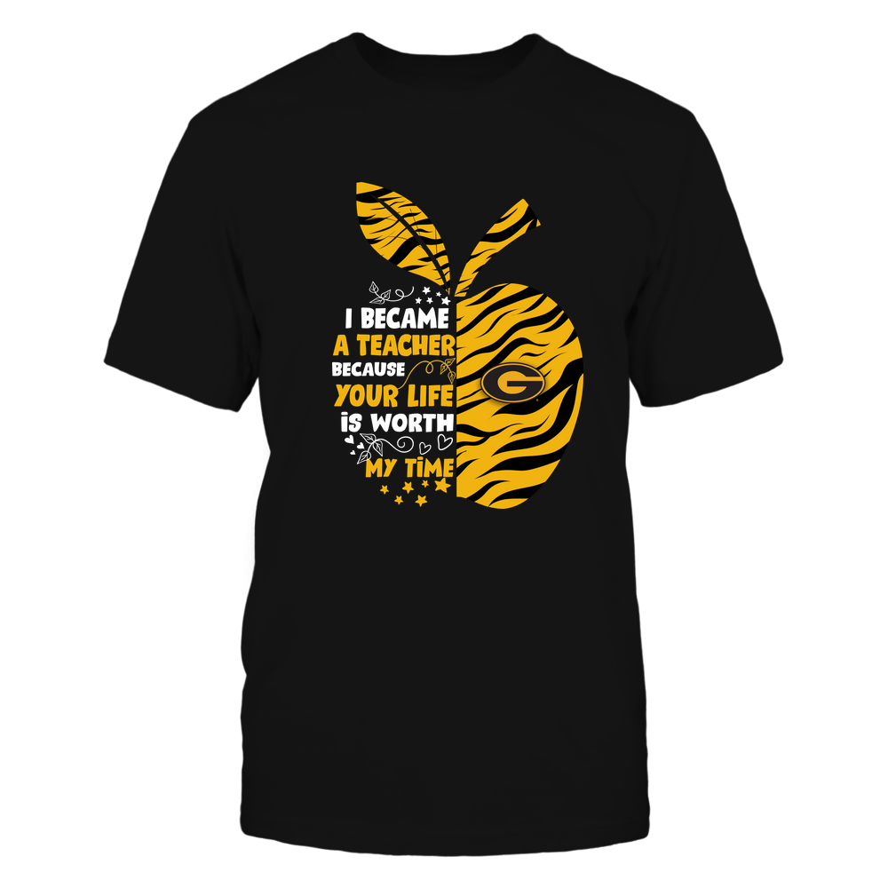 Grambling State Tigers - I-Became-Teacher-Team-Tiger-Stripe-IF32-IC32-DS85 Front picture