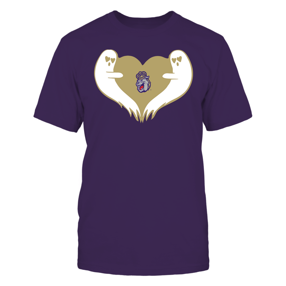 James Madison Dukes - Halloween - Ghost Heart - Team Front picture