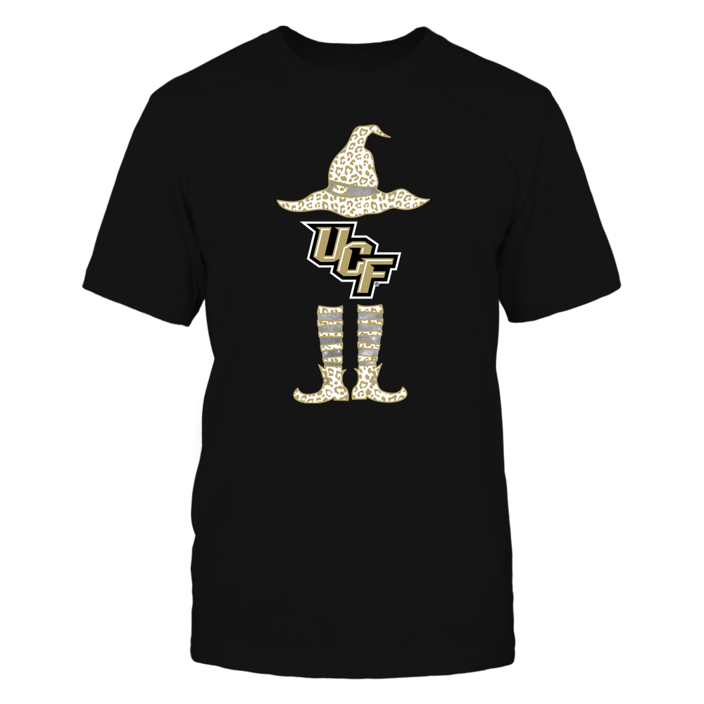 UCF Knights - Halloween Witch ^ Leopard Pattern ^ Team Front picture