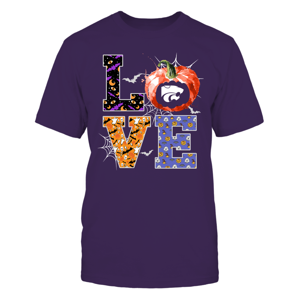 Kansas State Wildcats - Halloween - Stacked Love - Team Front picture