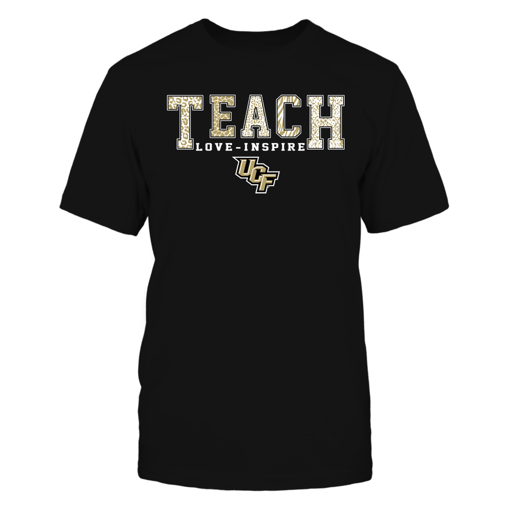 UCF Knights - Teach Love Inspire - Animal Print - Team Front picture