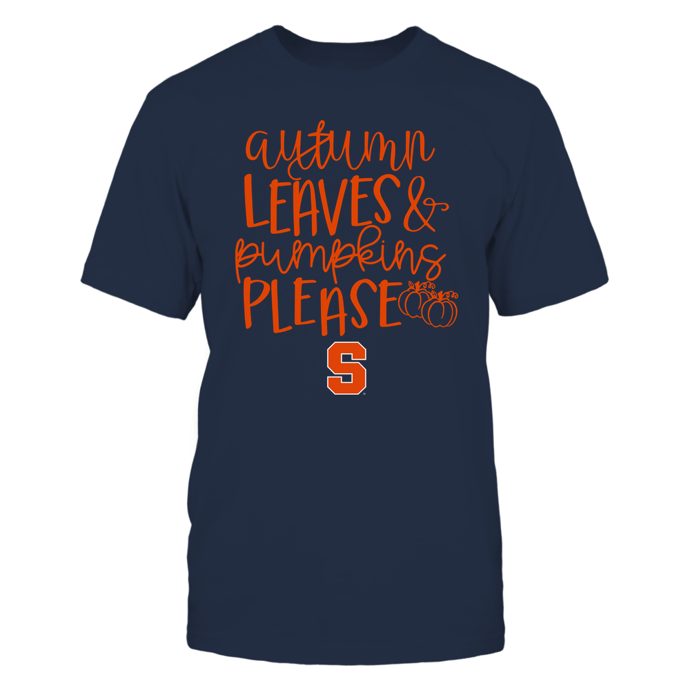 Syracuse Orange - Autumn Leaves and Pumpkins Please - Team Front picture