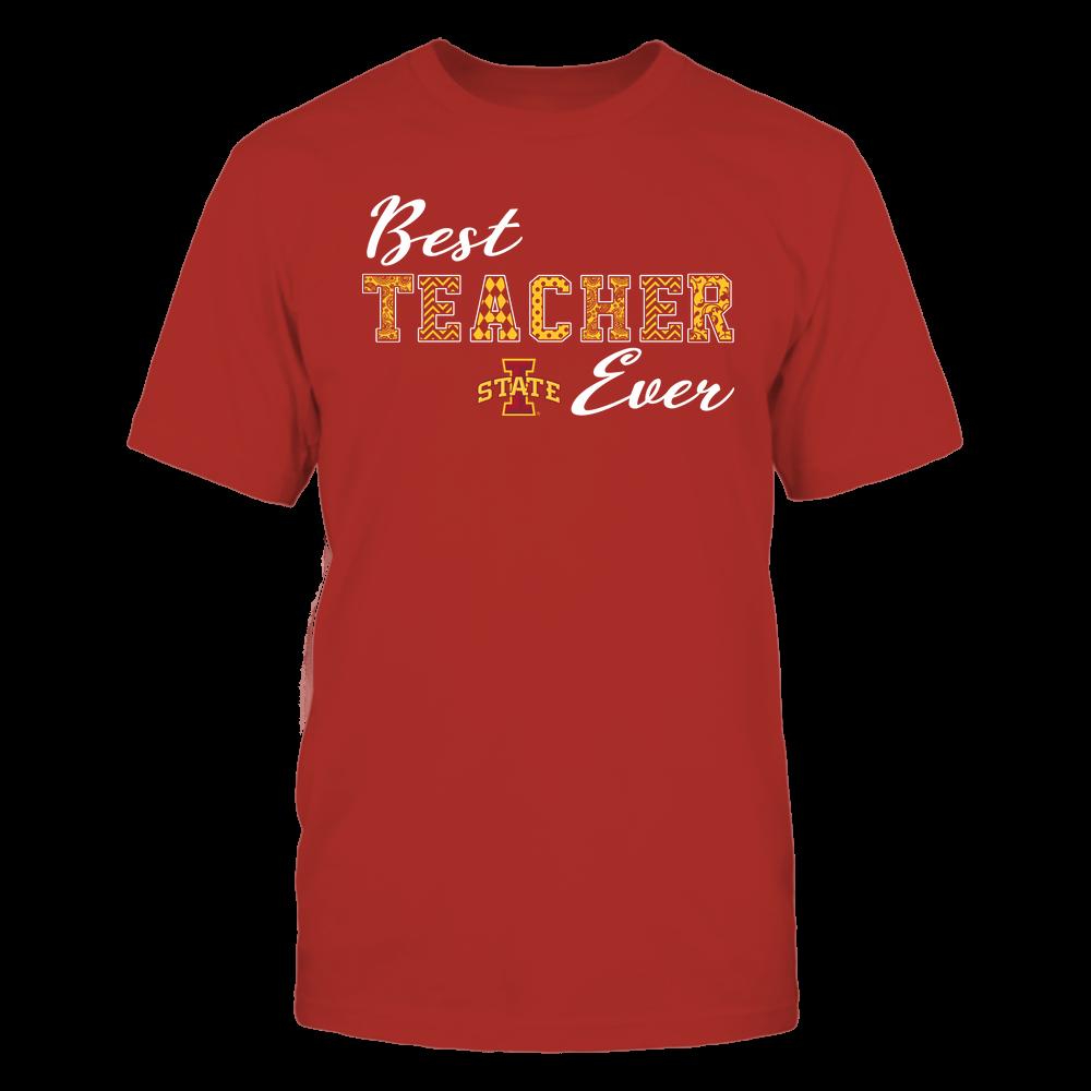 Iowa State Cyclones - Teacher - Best Teacher Ever - Team Front picture