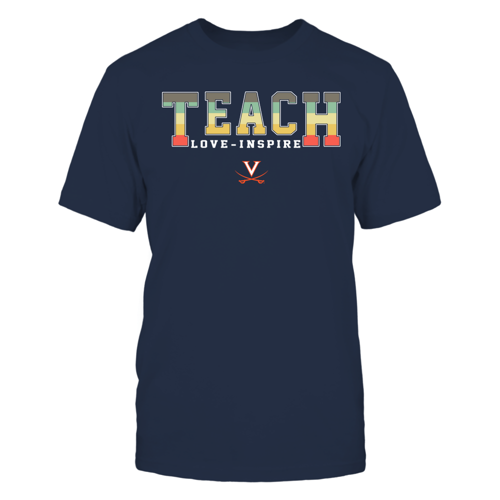 Virginia Cavaliers - Teach Love Inspire - Vintage - Team Front picture