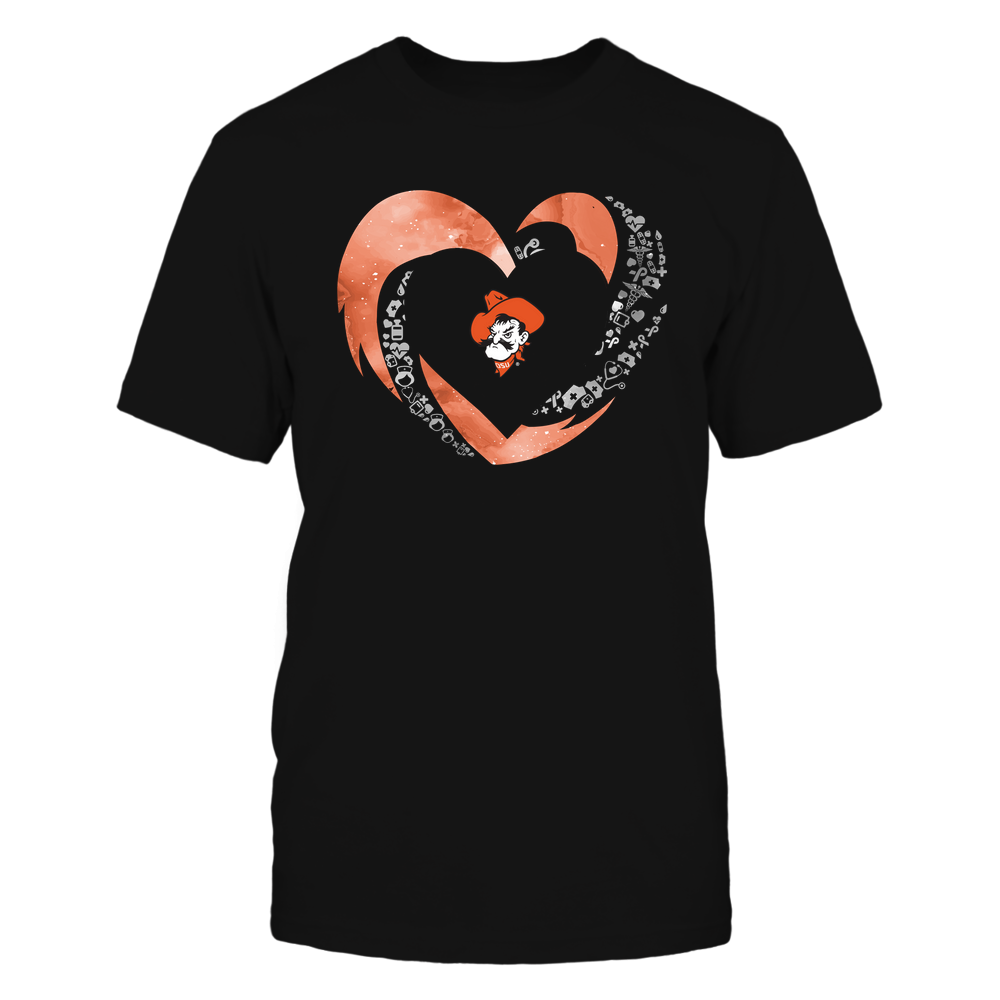 Oklahoma State Cowboys - Hurricane Heart - Nurse Things Inside - Team Front picture