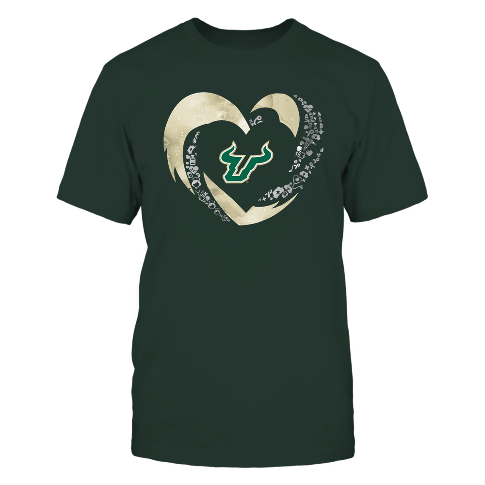 South Florida Bulls - Hurricane Heart - Nurse Things Inside - Team Front picture