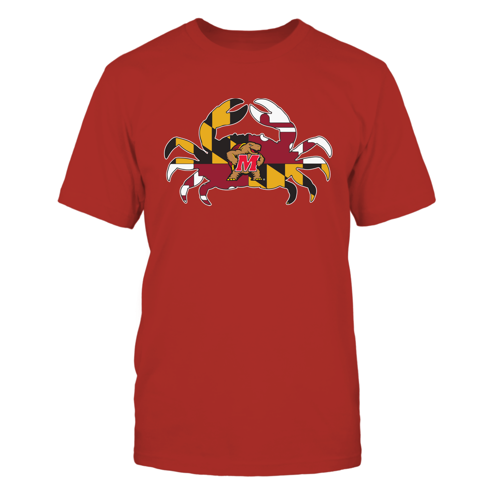 Maryland Terrapins - Crab-Flag-Ver-2-IF13-IC13-DS64 Front picture