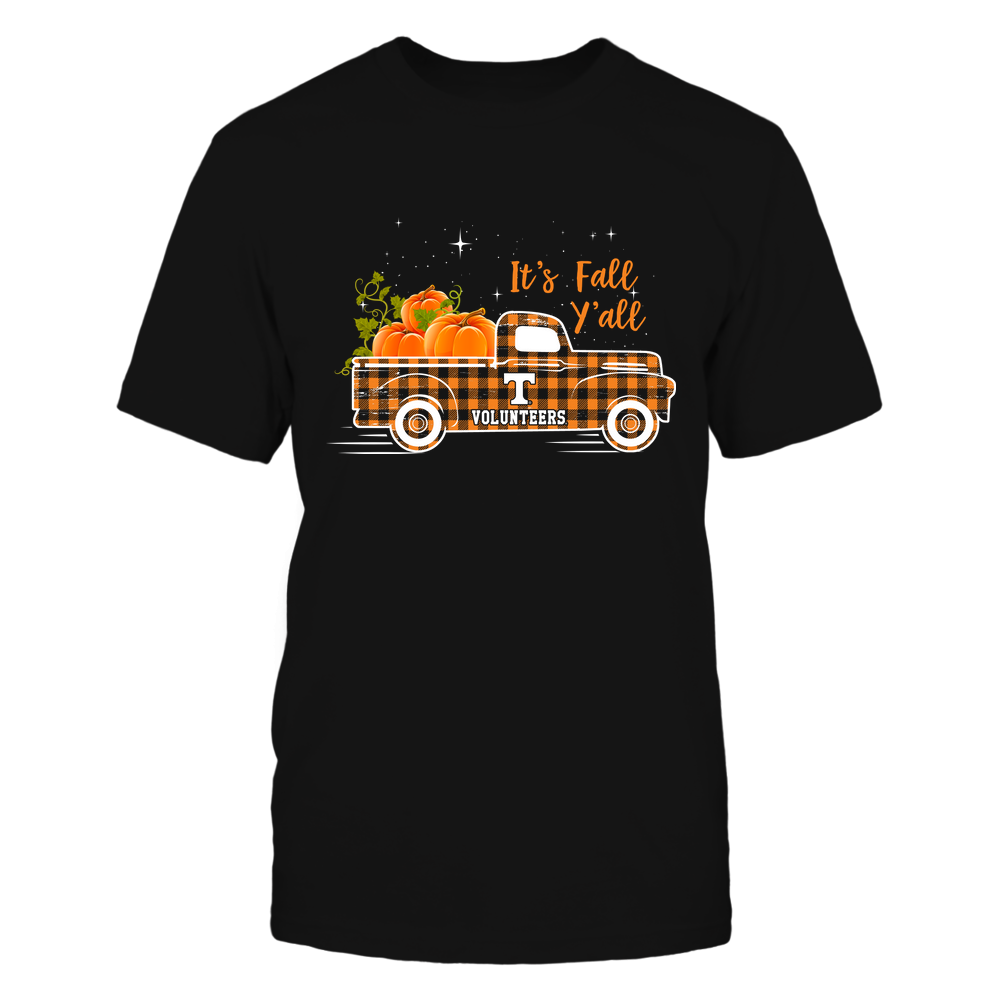Tennessee Volunteers - Checkered-Pattern-Fall-Truck-It-is-Fall-Yall-IF78-IC78-DS45 Front picture