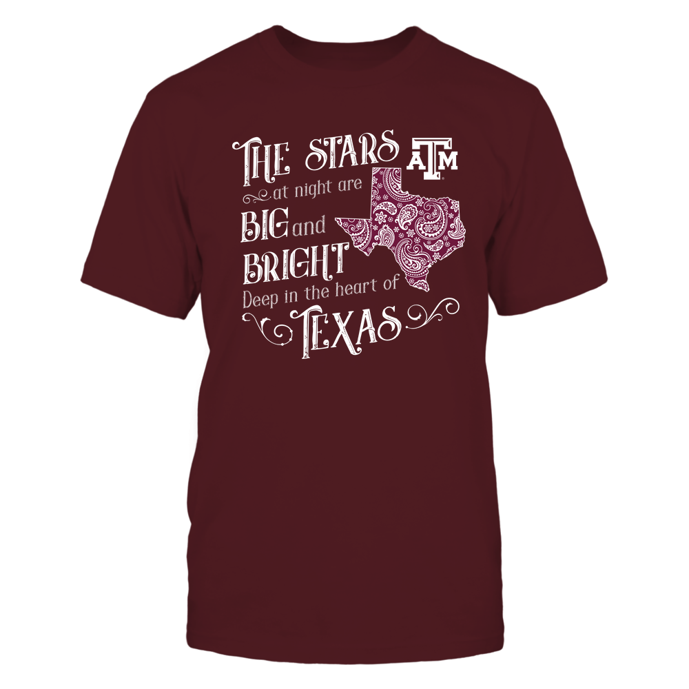 Texas A&M Aggies - State-Song-Paisley-State-IF13-IC13-DS27 Front picture