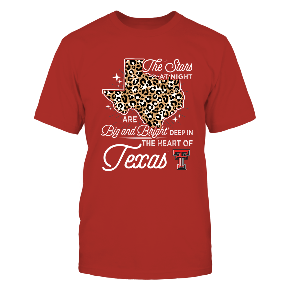 Texas Tech Red Raiders - The Stars At Night - Leopard Pattern State - IF13-IC13-DS45 Front picture