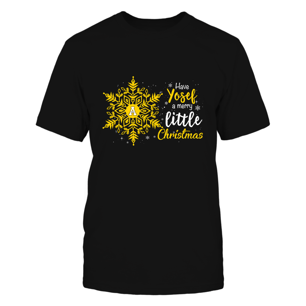Appalachian State Mountaineers - Xmas-Snowflake-Team-Quote-IF13-IC13-DS75 Front picture