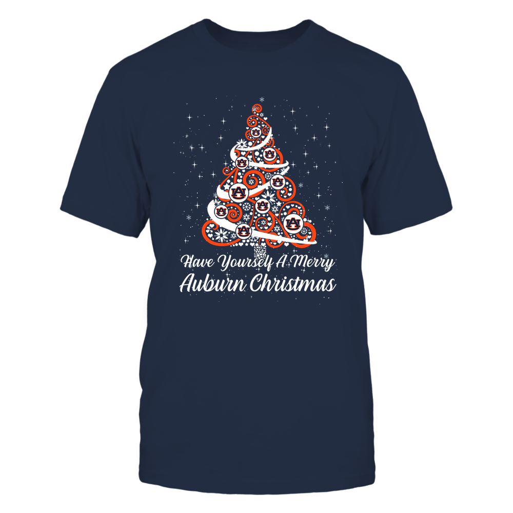 Auburn Tigers - Xmas-Have-Yourself-A-Merry-Team-Christmas-Tree-IF13-IC13-DS27 Front picture