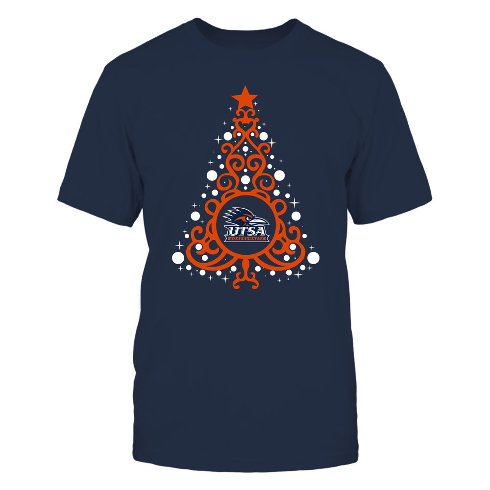 UTSA Roadrunners - 19093010176 - Xmas - Swirl Christmas Tree  - IF13-IC13-DS27 - APCX Front picture