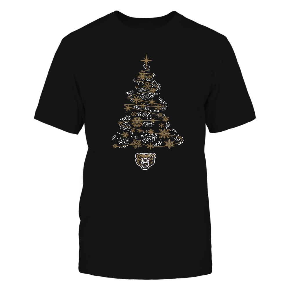 Oakland Golden Grizzlies - 19093010177 - Sparkling Christmas Tree  - IF13-IC13-DS45 - APCX Front picture