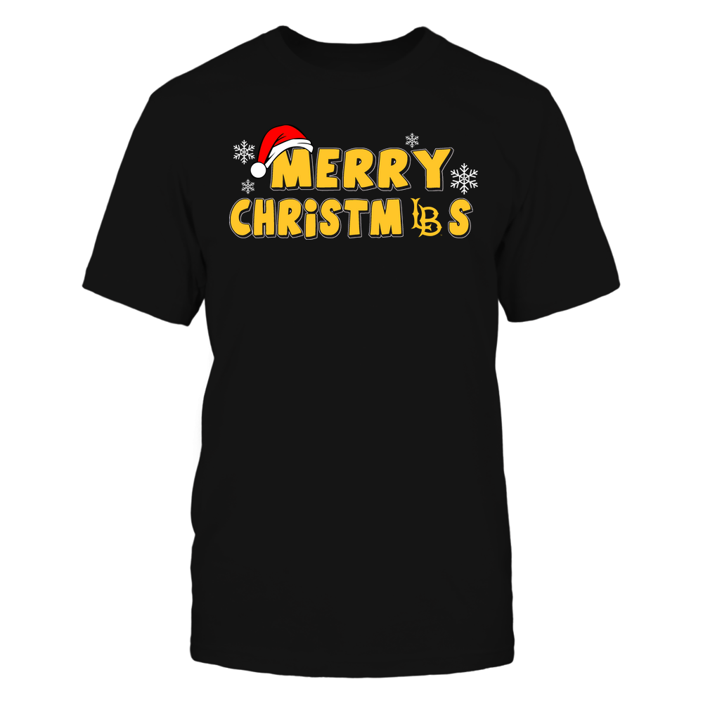 Long Beach State 49ers - 19093010178 - Merry Christmas Logo - IF13-IC13-DS37 - APCX Front picture