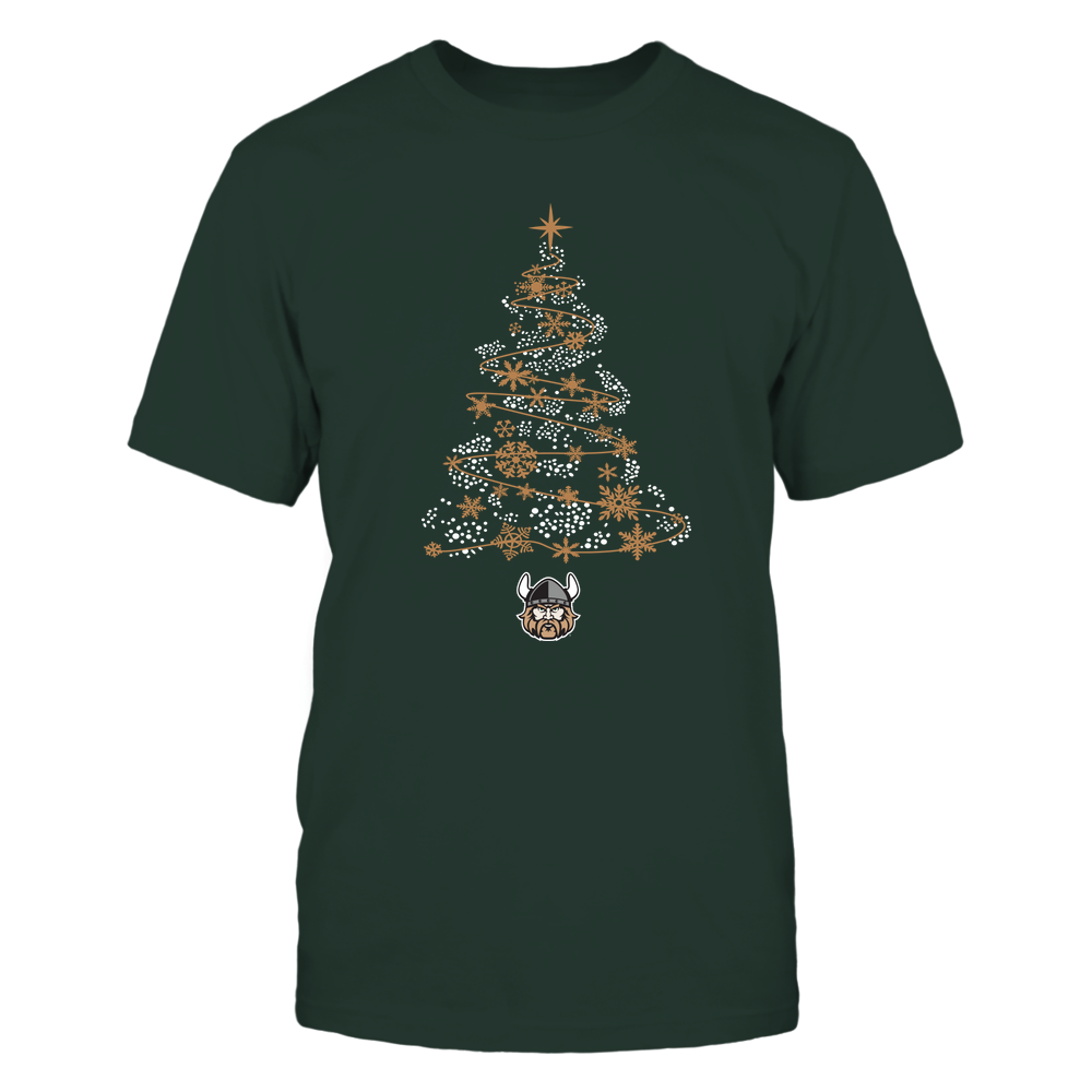 Cleveland State Vikings - 19093010177 - Sparkling Christmas Tree  - IF13-IC13-DS45 - APCX Front picture