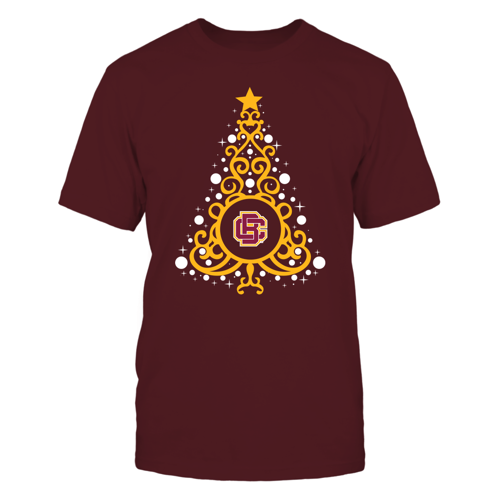 Bethune-Cookman Wildcats - 19093010176 - Xmas - Swirl Christmas Tree  - IF13-IC13-DS27 - APCX Front picture