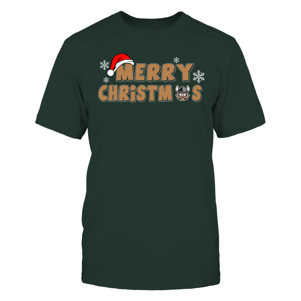 Cleveland State Vikings - 19093010178 - Merry Christmas Logo - IF13-IC13-DS37 - APCX Front picture