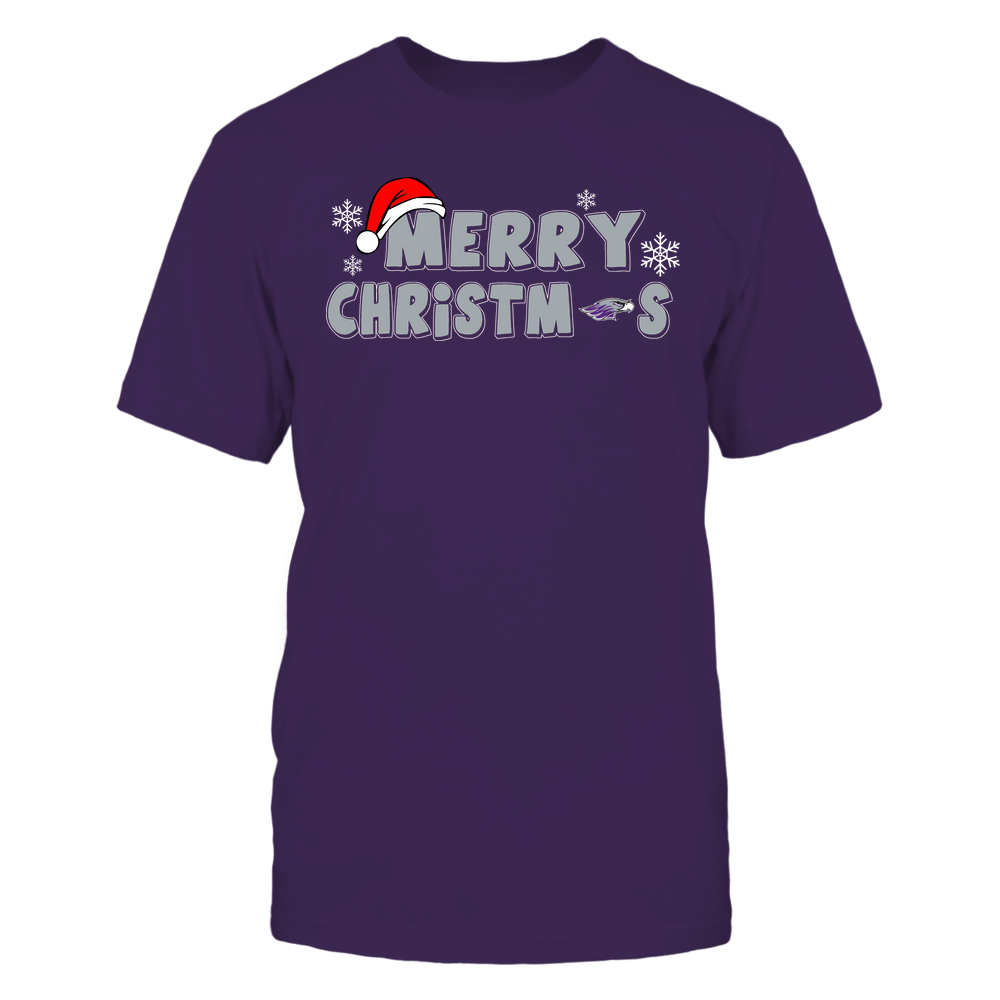 Wisconsin-Whitewater Warhawks - 19093010178 - Merry Christmas Logo - IF13-IC13-DS37 - APCX Front picture