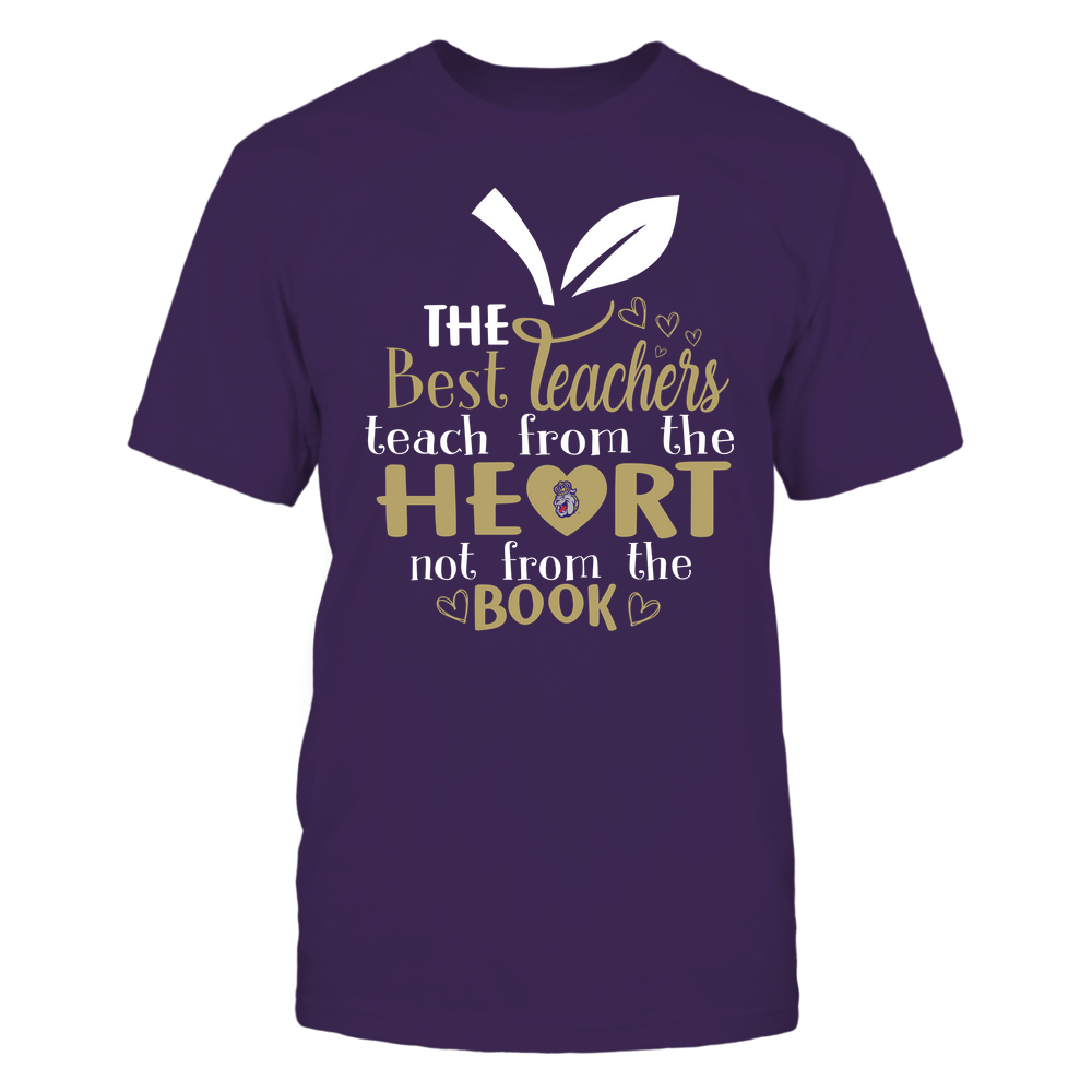 James Madison Dukes - Teacher ^ The Best Teachers Teach From The Heart -  Apple - Team Front picture