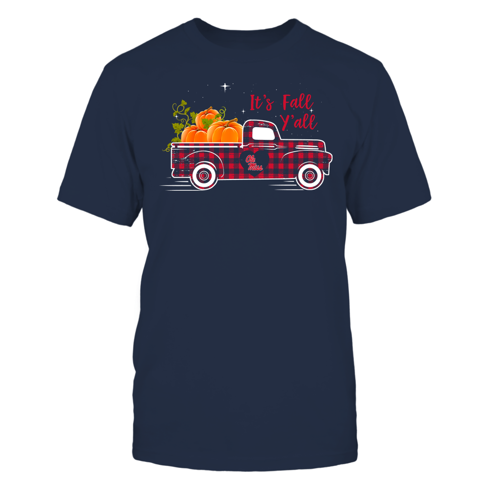 Ole Miss Rebels - Fall - Checkered Pattern Truck - Team Front picture