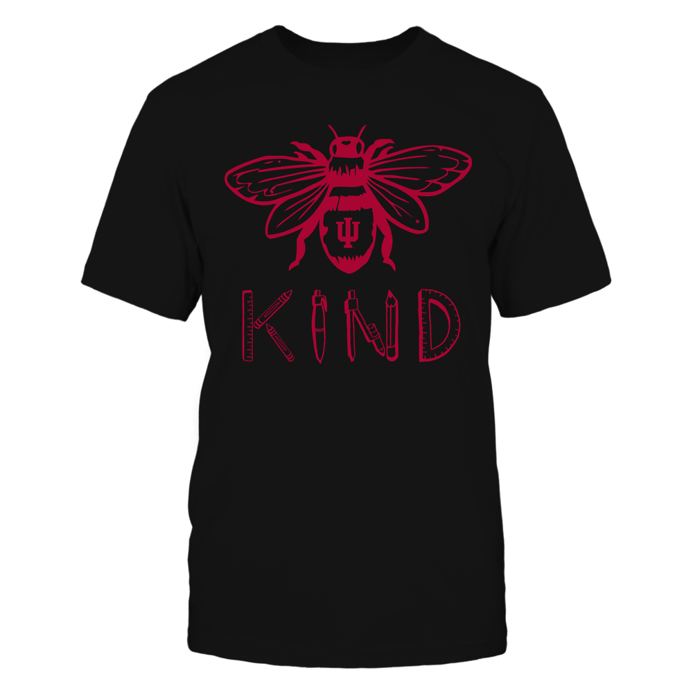 Indiana Hoosiers - Teacher - Bee Kind - Teacher Things Front picture