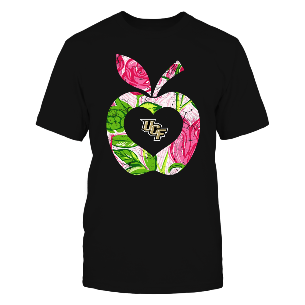 UCF Knights - Teacher - Lilly Pattern - Apple Front picture