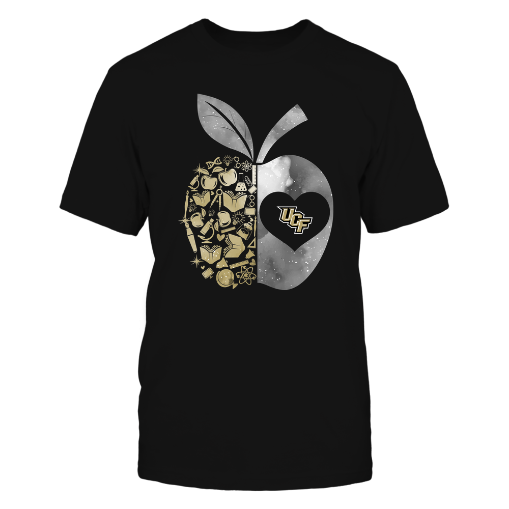 UCF Knights - Teacher - Half Apple Teacher Things - Galaxy Front picture