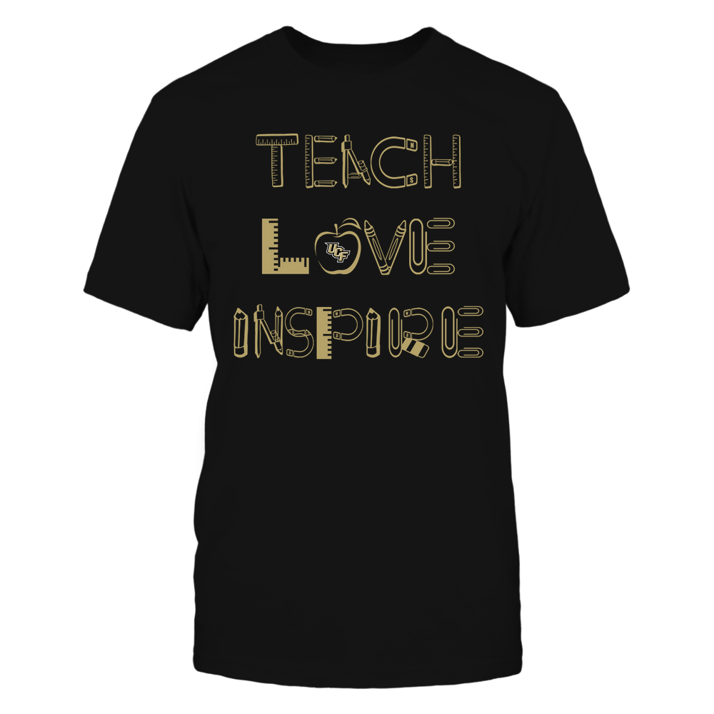 UCF Knights - Teacher Things - Teach Love Inspire - Team Front picture