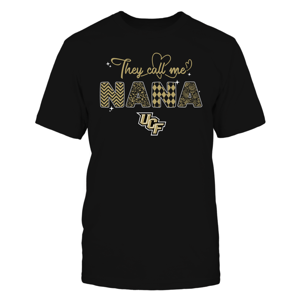 UCF Knights - They Call Me Nana - Heart Beat Pattern Front picture