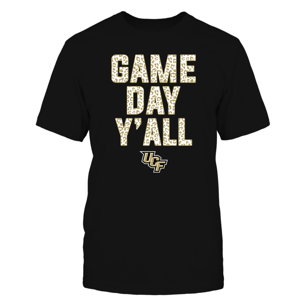 UCF Knights - Game Day Yall - Leopard Pattern - Team Front picture