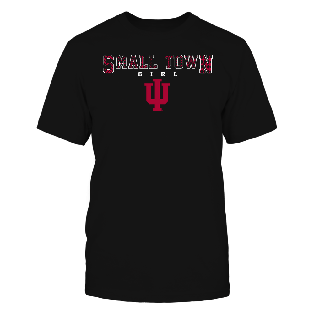 Indiana Hoosiers - Small Town Girl - Slogan Patterned - Team Front picture