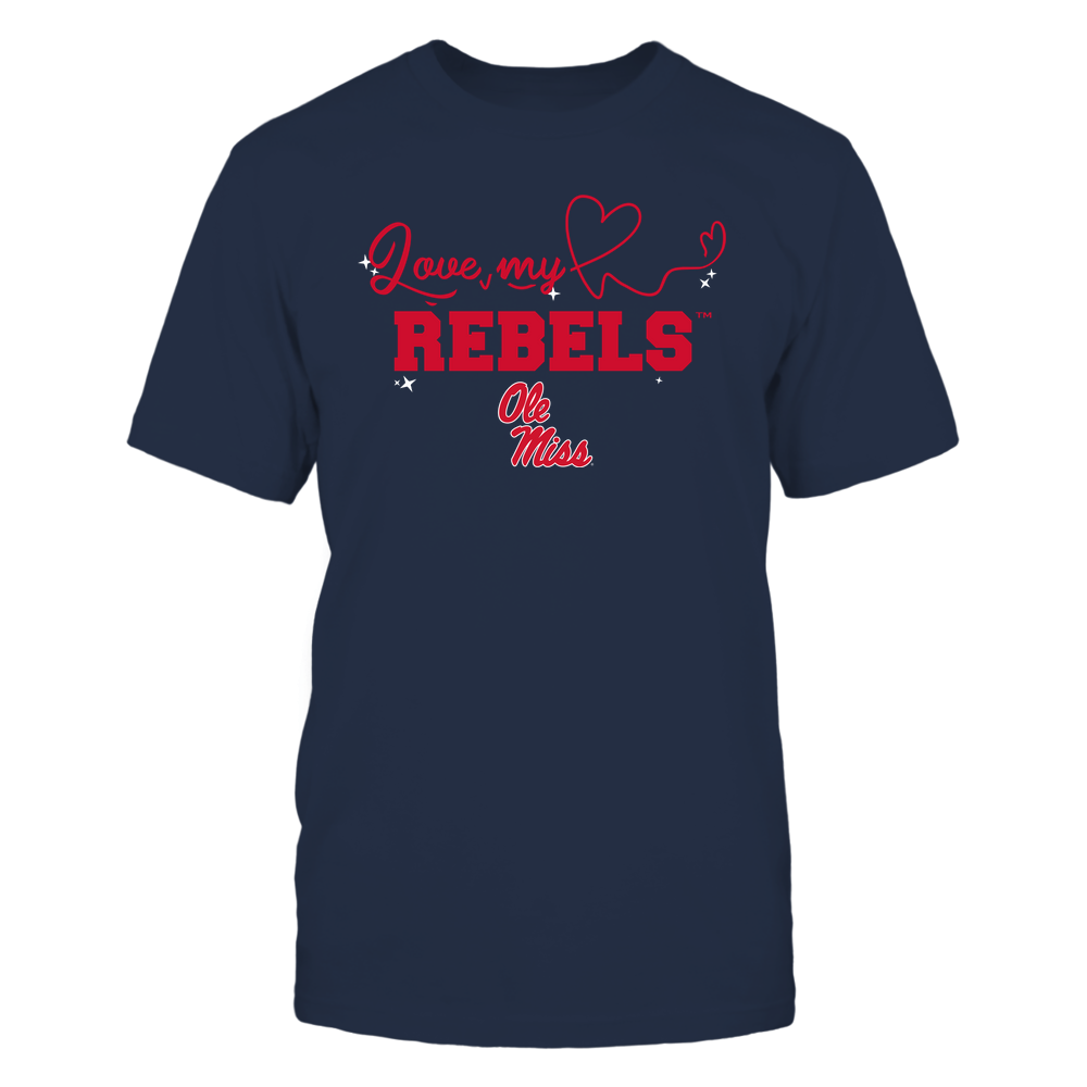 Ole Miss Rebels - Love My Team - Heart Beat - Team Front picture