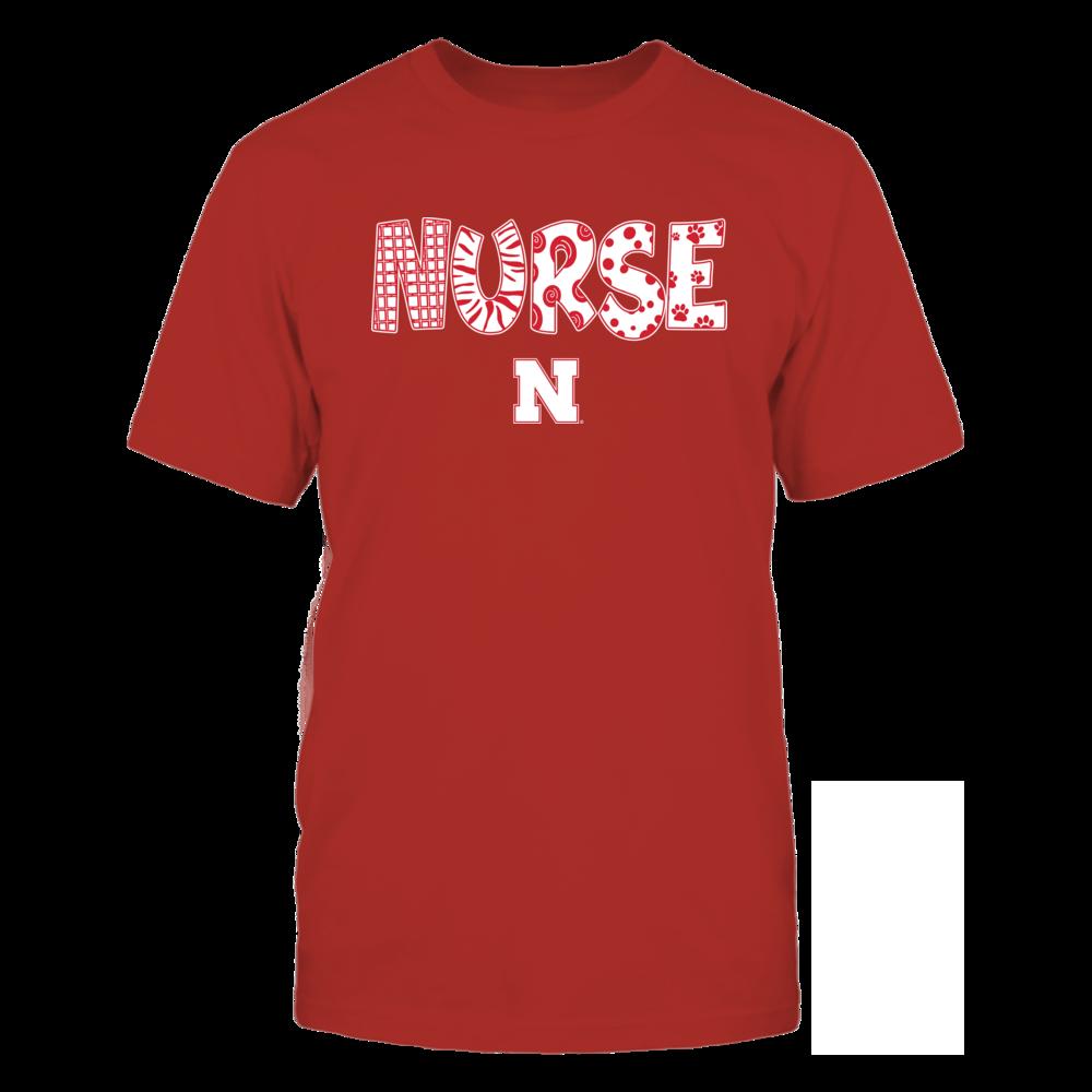 Nebraska Cornhuskers - -Nurse-Doodle-IF32-IC32-DS63 Front picture