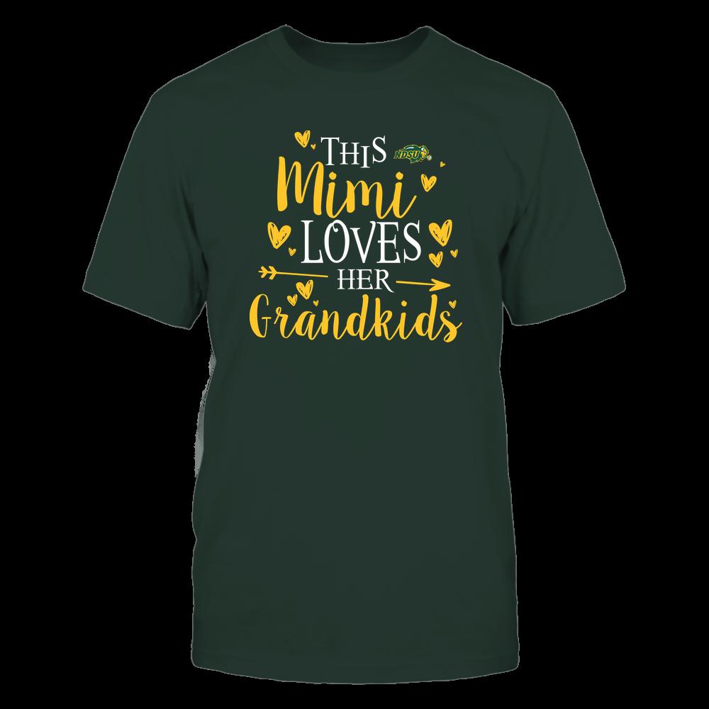 North Dakota State Bison - This Mimi Loves Her Grandkids - Team Front picture