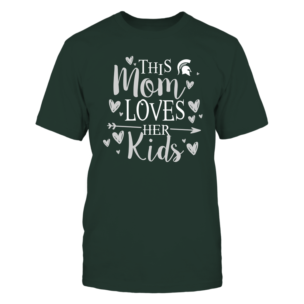 Michigan State Spartans - This Mom Loves Her Kids - Team Front picture