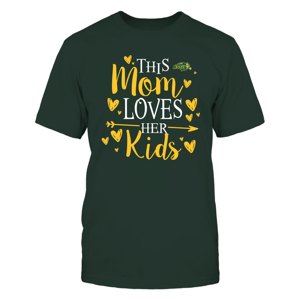 North Dakota State Bison - This Mom Loves Her Kids - Team Front picture