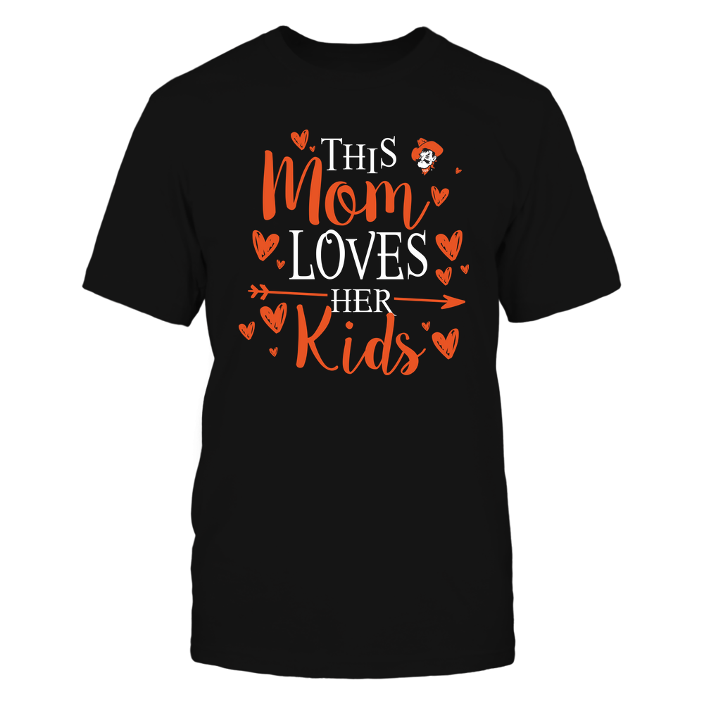 Oklahoma State Cowboys - This Mom Loves Her Kids - Team Front picture
