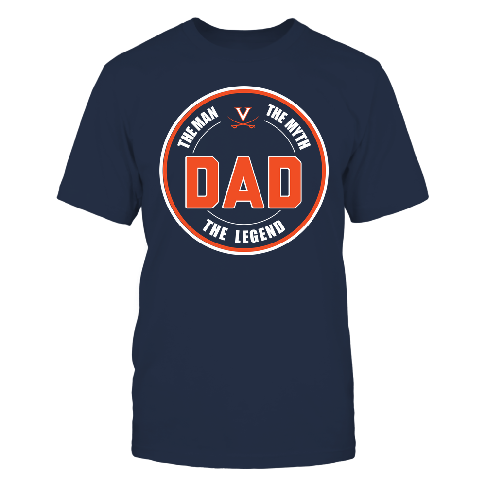 Virginia Cavaliers - Dad  - The Legend - Team Front picture