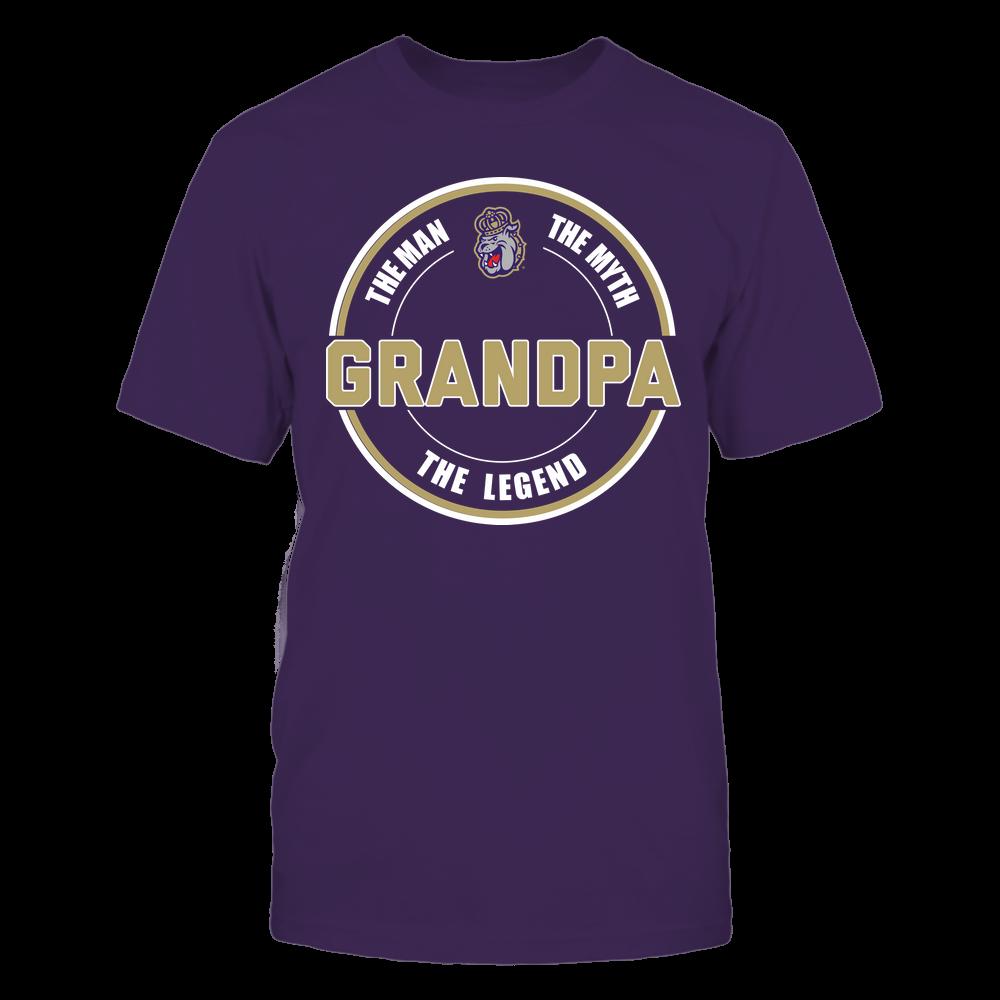 James Madison Dukes - Grandpa  - The Legend - Team Front picture