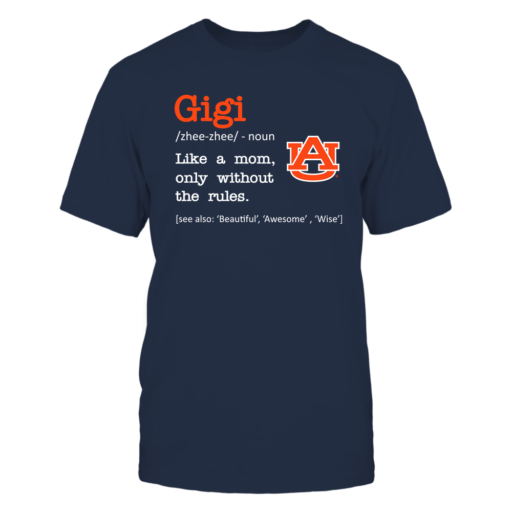 Auburn Tigers - Gigi - No Rules - Team Front picture