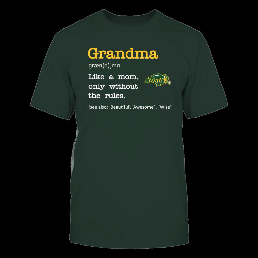 North Dakota State Bison - Grandma - No Rules - Team Front picture