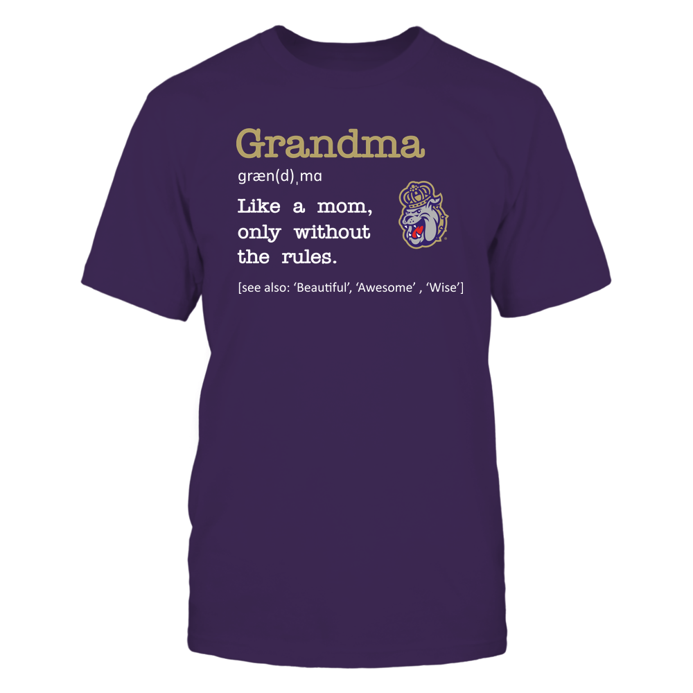 James Madison Dukes - Grandma - No Rules - Team Front picture