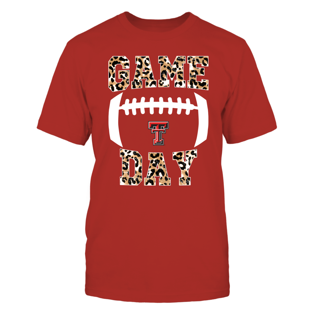 Texas Tech Red Raiders - Game-Day-Leopard-IF32-IC32-DS83 Front picture