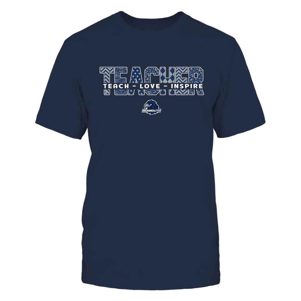 Monmouth Hawks - 19100410062 - Teacher - Teach Love Inspire Cut Through Patterned - IF13-IC13-DS27 - APCX Front picture