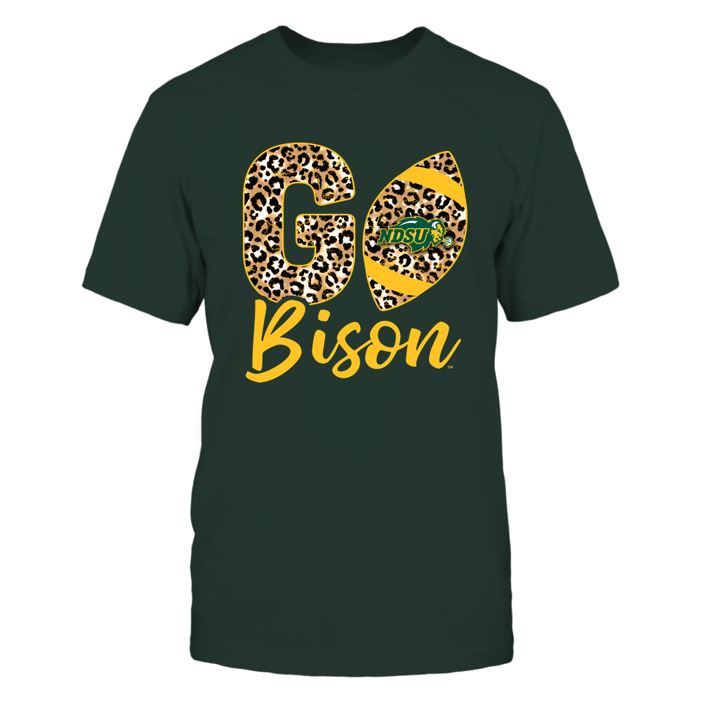 North Dakota State Bison - Team Slogan - Leopard Football - IF-IC78-DS37 Front picture